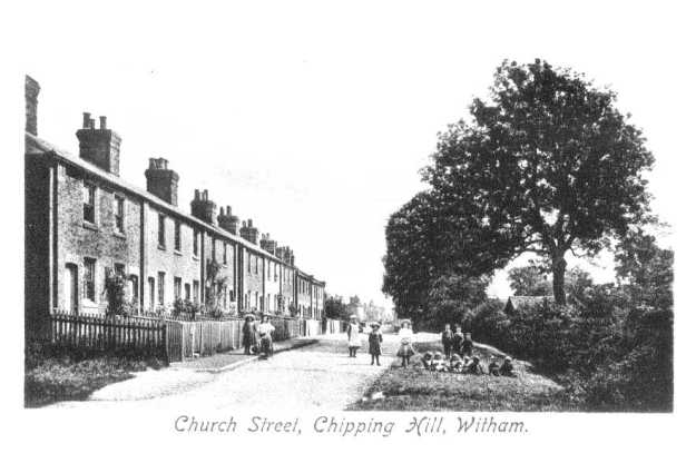 Chipping Hill Terrace in Church Street, where Mrs Hammond was brought up