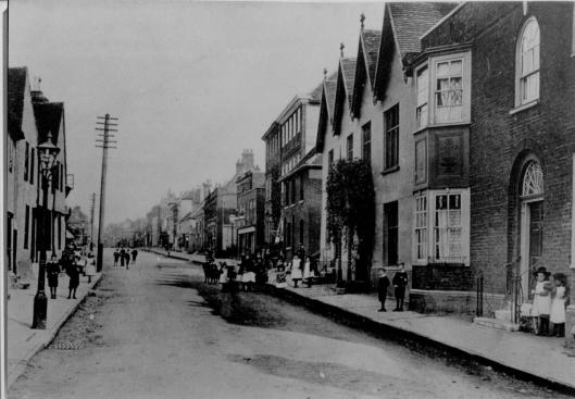 Bottom of Newland Street, south side, as discussed below.