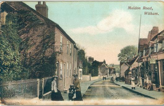 Maldon Road looking south. Just after 1900